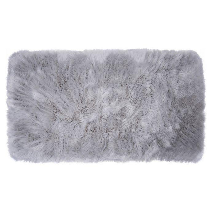 Black Fur Rug Bed Bath And Beyond