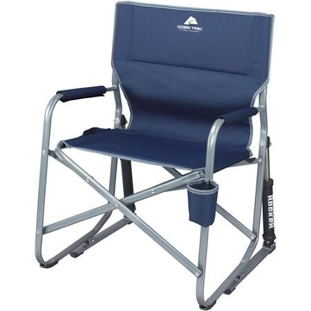 Tremendous 32 99 Ozark Trail Portable Rocking Chair Walmart Com Theyellowbook Wood Chair Design Ideas Theyellowbookinfo