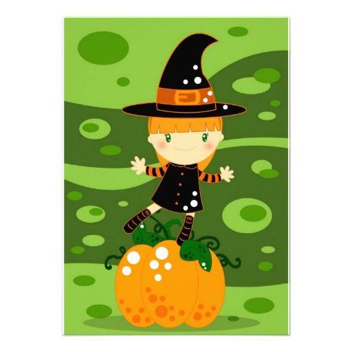 Happy Halloween! Invites