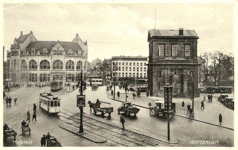 Hofplein Rotterdam Geschiedenis Nederland