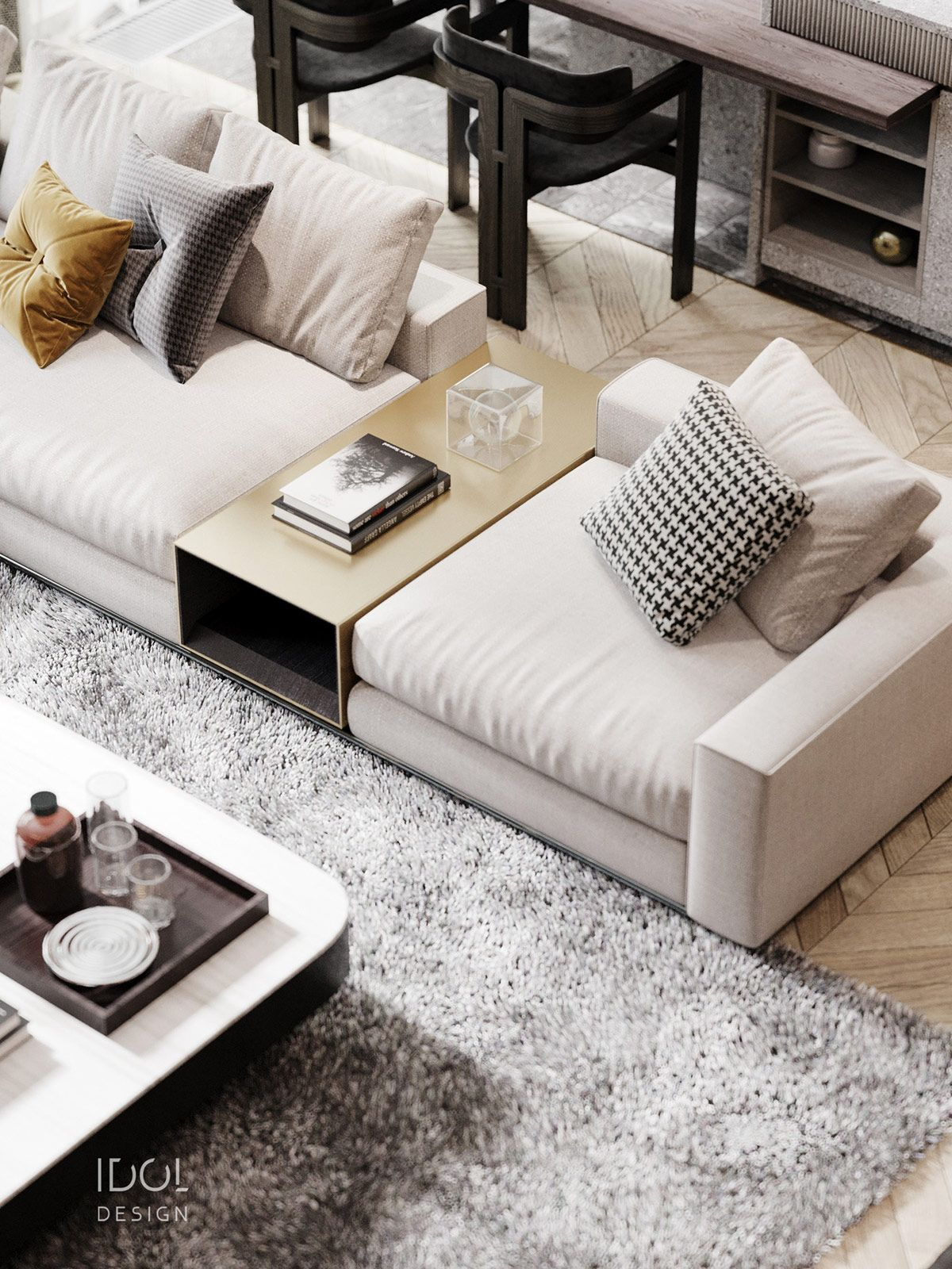 Luxury Modern Living In Grey And Gold Sofa Design Living Room Sofa Furniture