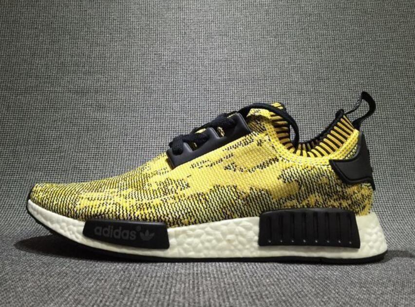 "adidas NMD Runner PK ""Yellow Camo"" S42131 size 40-44"