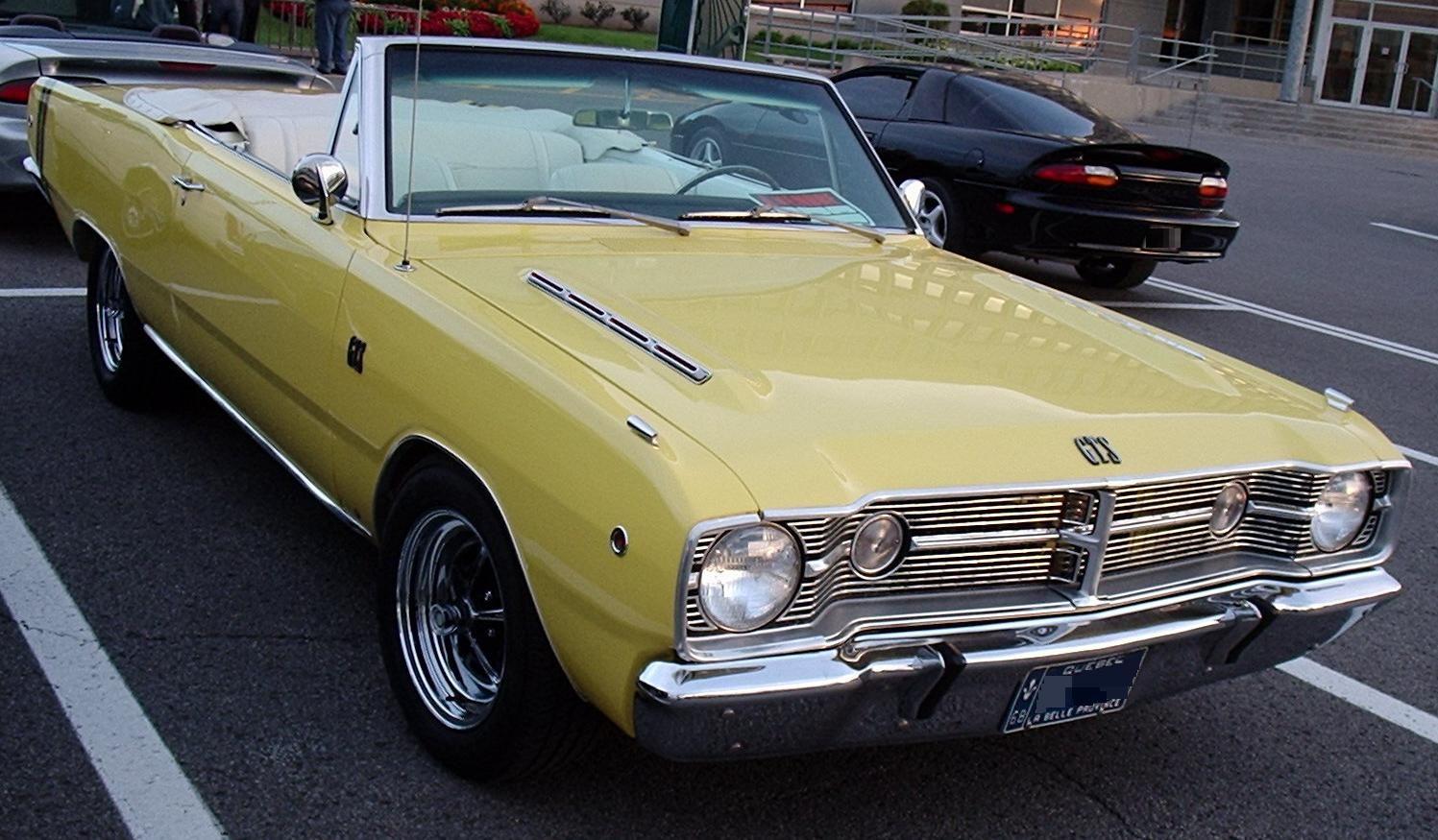 File:'68 Dodge Dart GTS (Les chauds vendredis '10).jpg