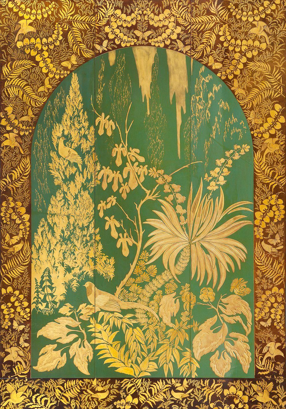 Armand-Albert Rateau. Lacquered Panel, France, Circa 1925. | Armand ...