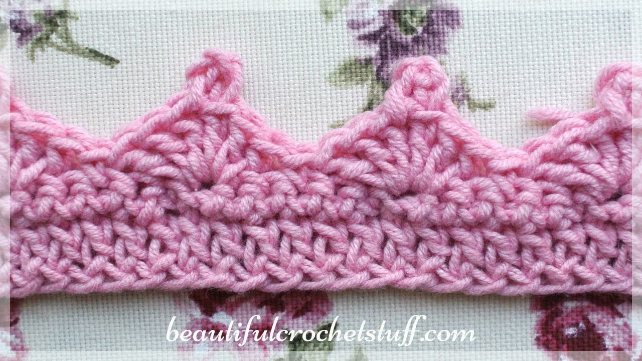 Crochet Border 1 Crochet Edgings Borders Crochet Borders