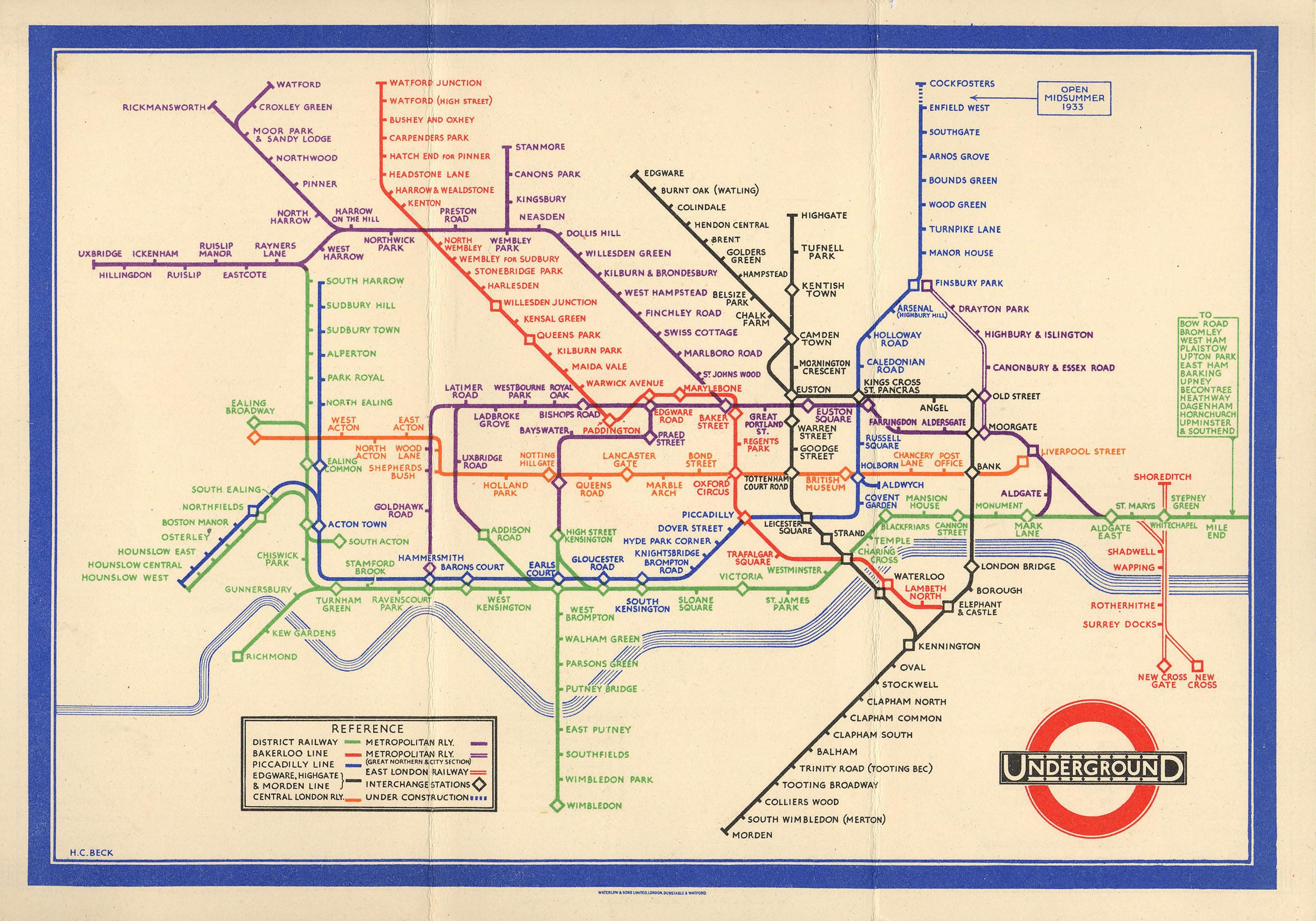 design classic honoured tube map creator given blue plaque