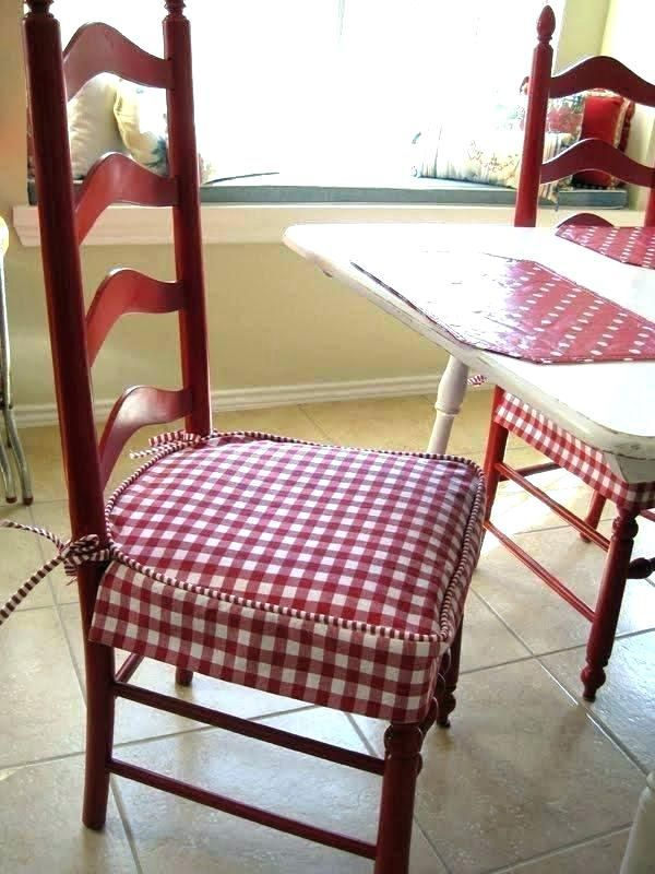 Kitchen Chair Pads French Country Rocking Seat Cushion Image