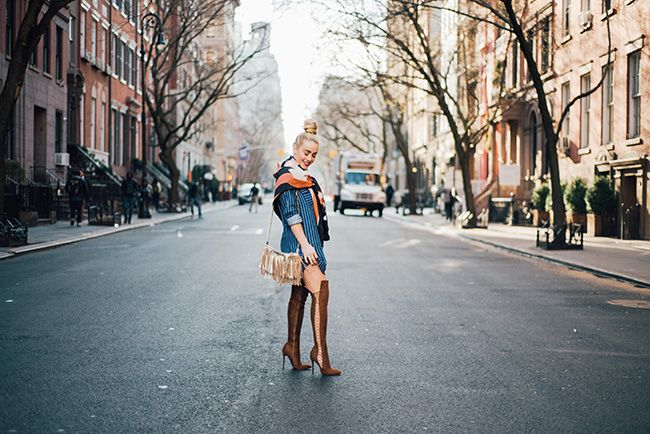 Mimosas and Manhattan | Spring Dressing in NYC