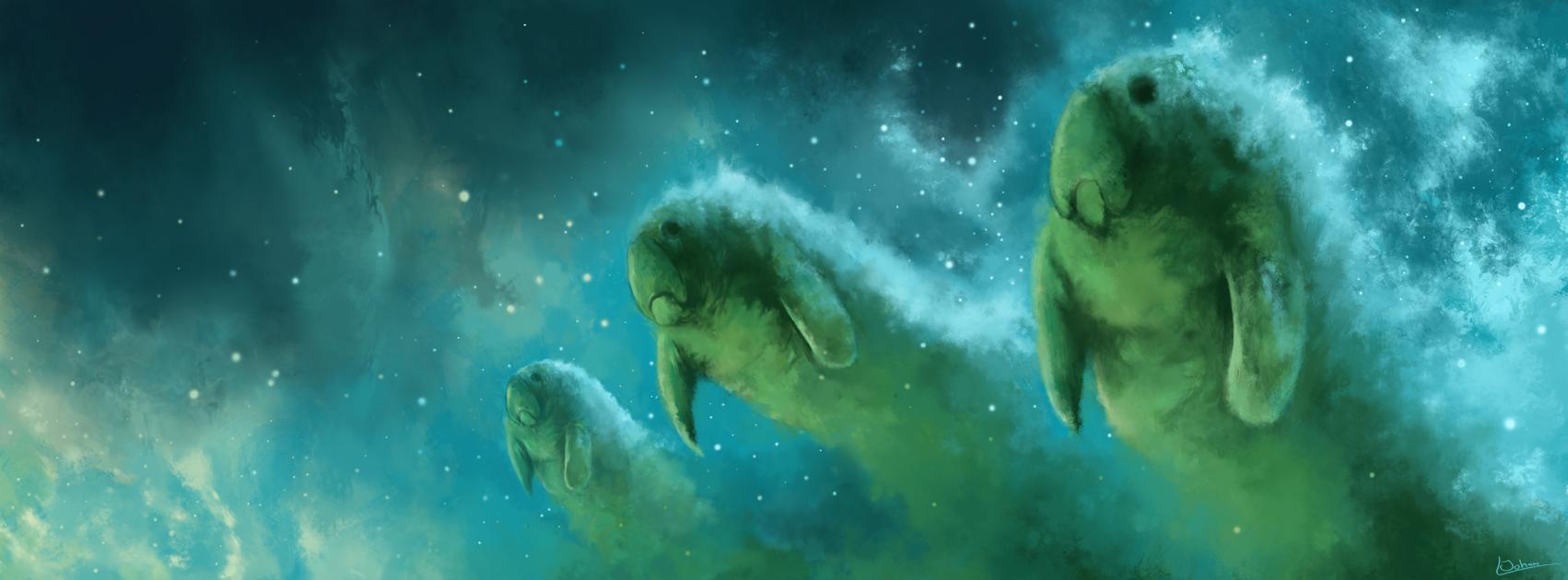 Manatee Nebula Manatee Post Rock Nebula