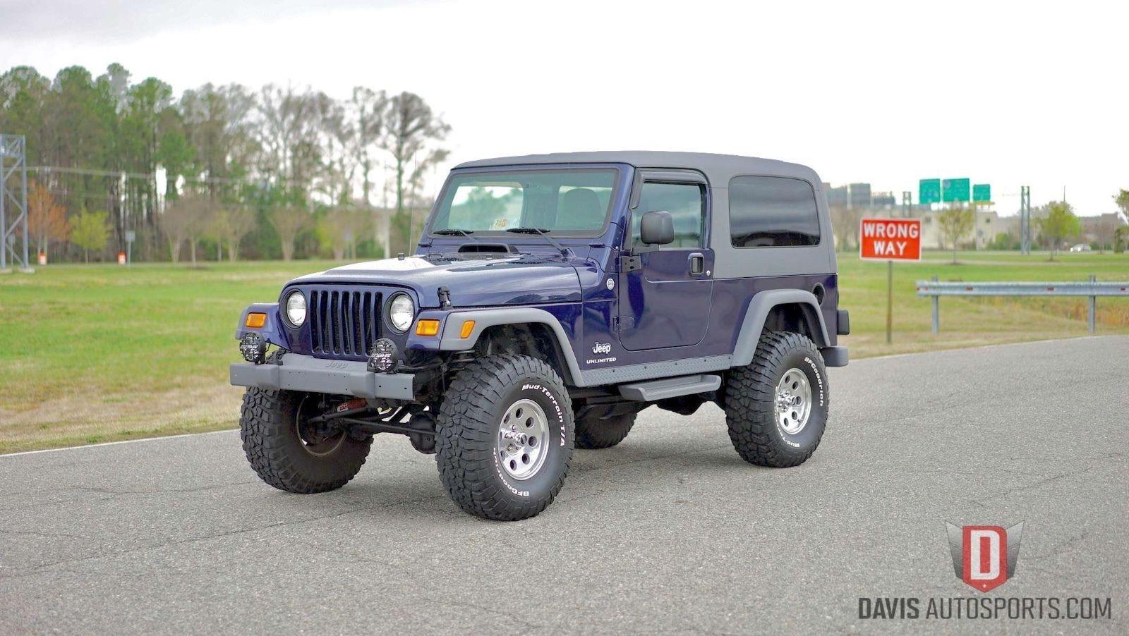 Ebay 2006 jeep wrangler sport unlimited wrangler lj lifted bfg 35 tires