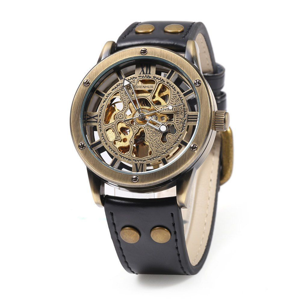Outstanding Details About Male Automatic Mechanical Watch Hollow Out Dial Hairstyle Inspiration Daily Dogsangcom