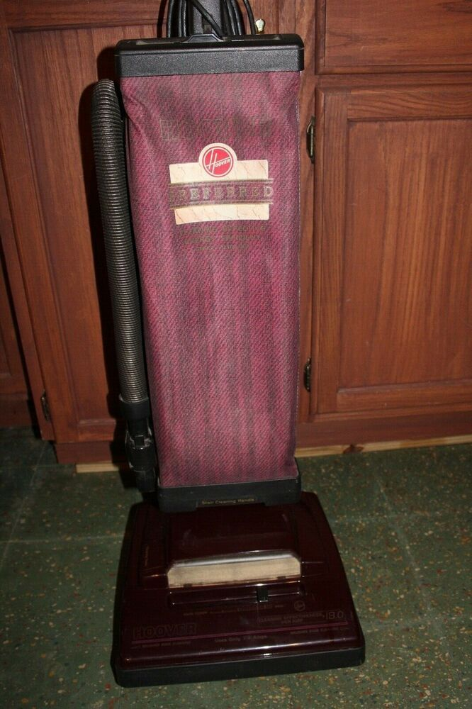 rare vintage hoover upright Elite preferred vacuum cleaner