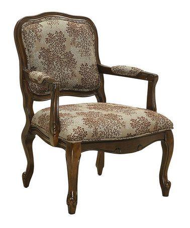 Best Arbor Brown Accent Chair Zulily Zulilyfinds 400 x 300