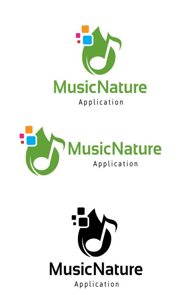 Music Nature Logo @creativework247