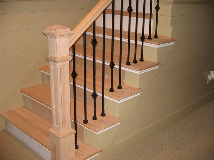 Best Wrought Iron And Wood Stair Railing Google Search 400 x 300