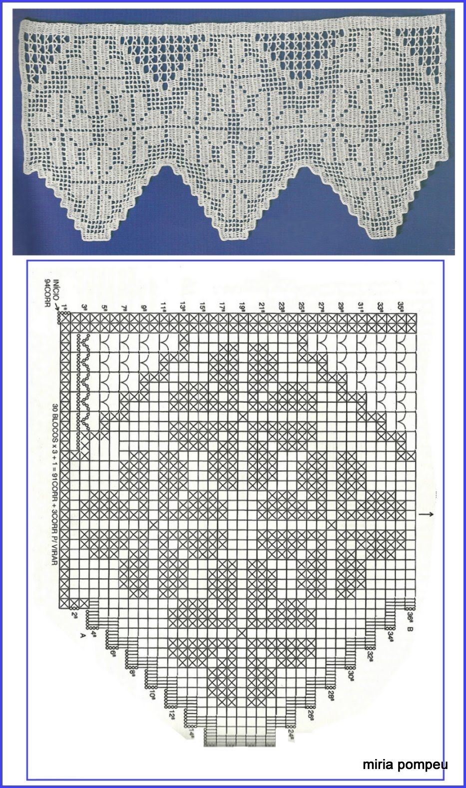 Filet crochet. Ganchillo punto de red | patrones | Pinterest ...