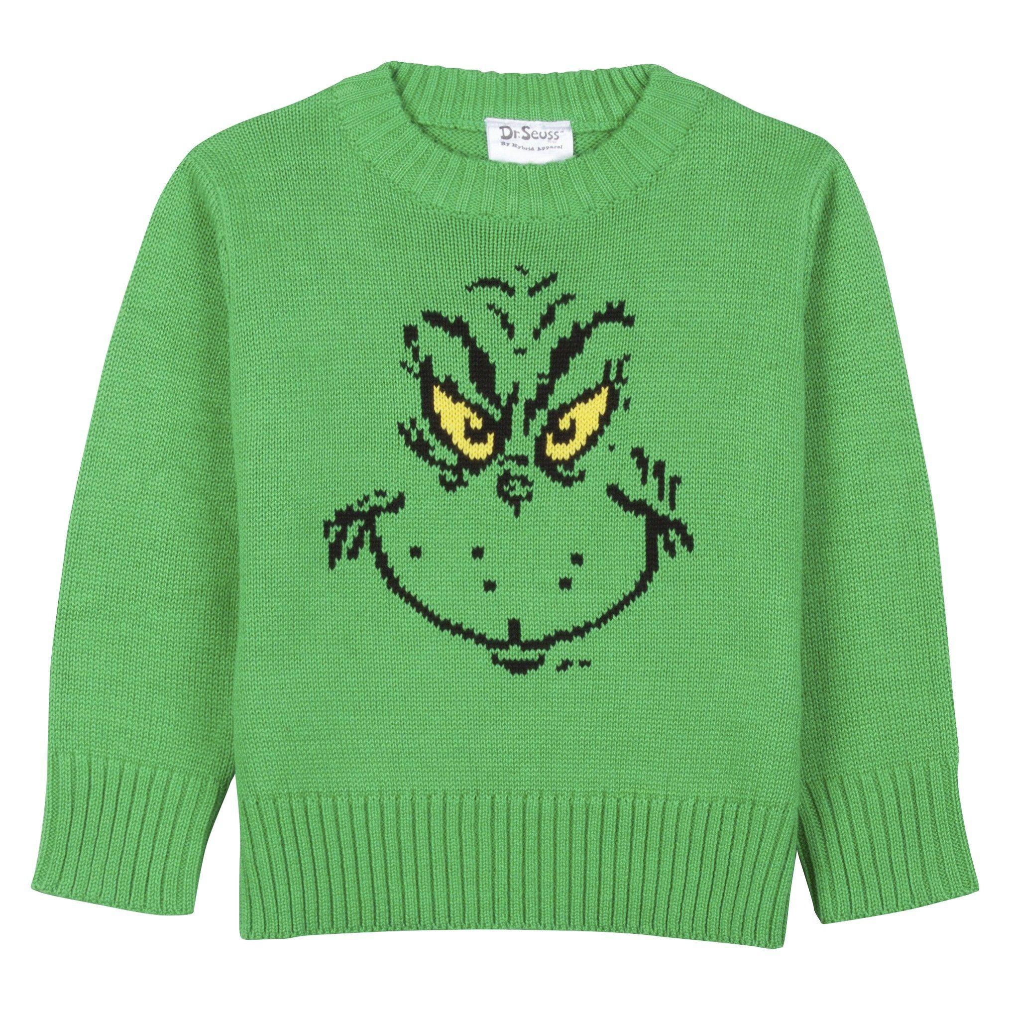 Dr Seuss The Grinch Infant Toddler Boys Sweat