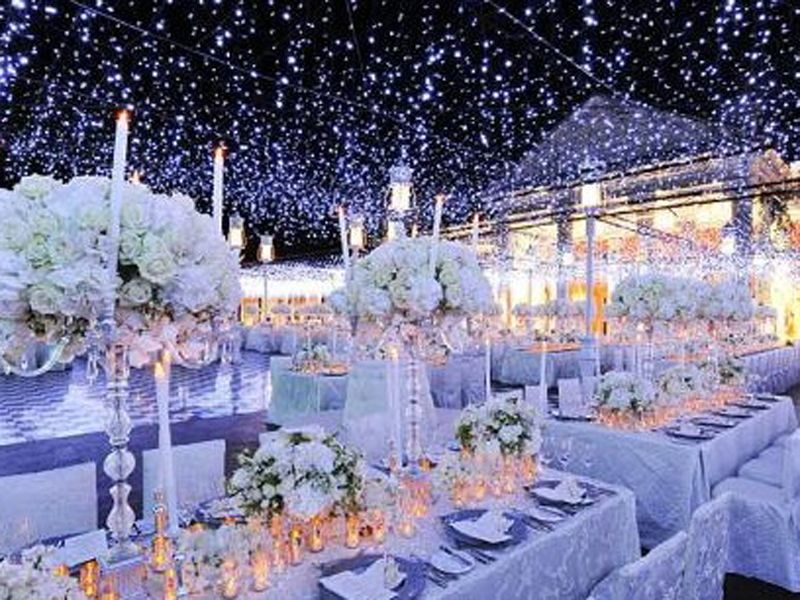 Winter weddings and Reception