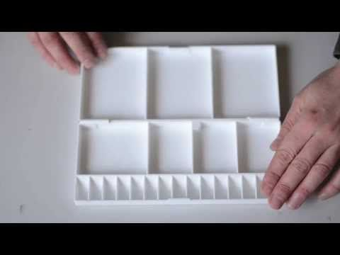 A Lightweight Folding Watercolour Palette Made Of Sturdy Hard