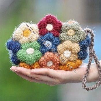 Crochet Puff Flower: Patterns & Uses - Lucy Kate Crochet