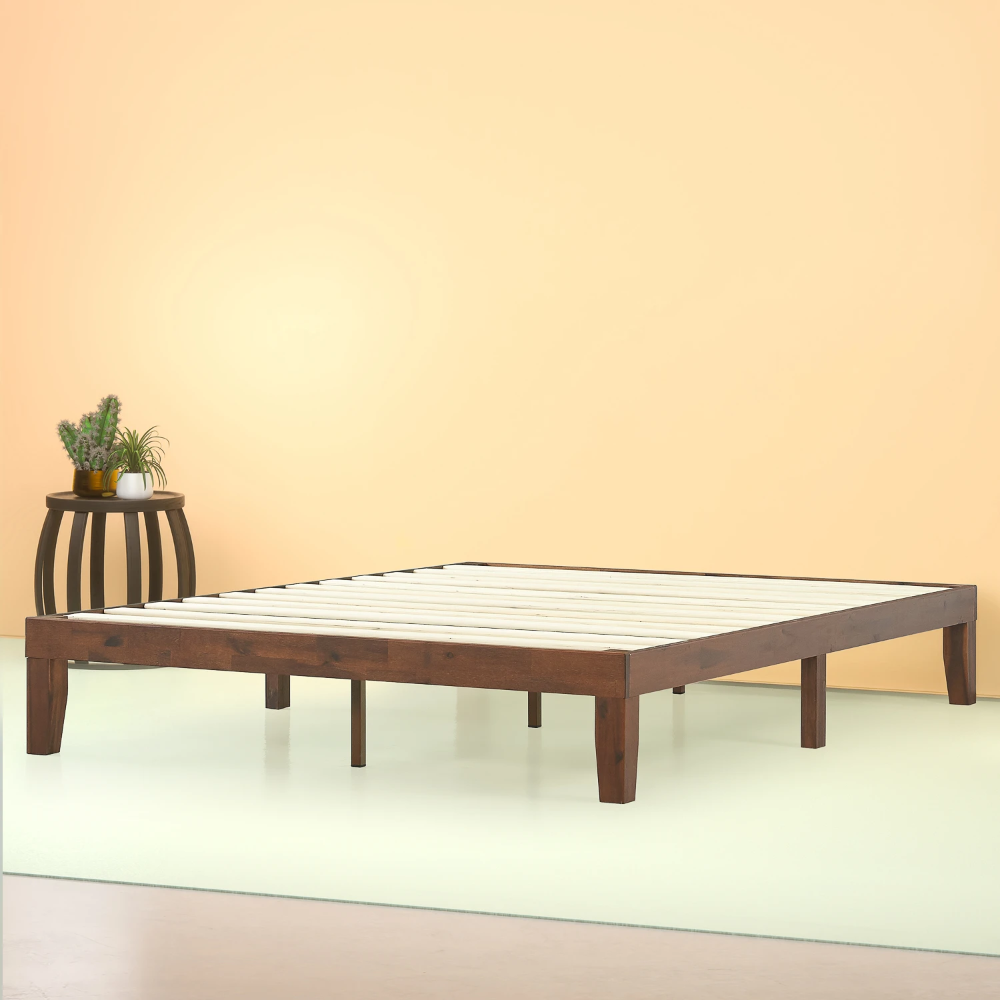 Marissa Wood Platform Bed Frame in 2020 Wood platform