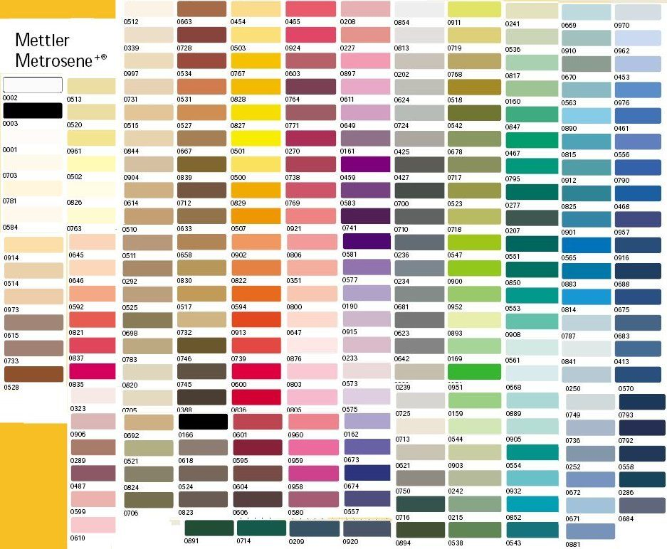 Embroidery Color Chart Juveique27