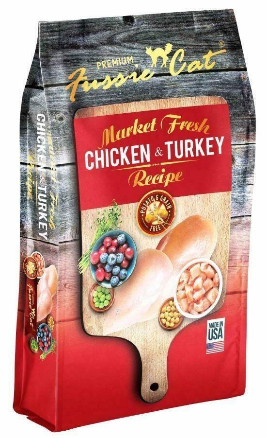 Fussie Cat Market Fresh Grain Free Chicken & Turkey Cat