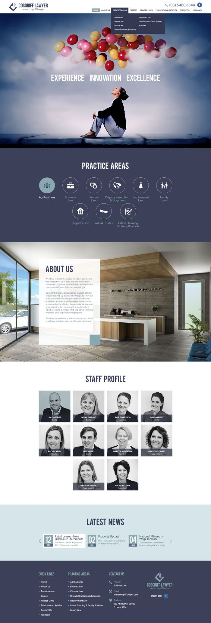 22 Best Law firm Websites Inspiration 22