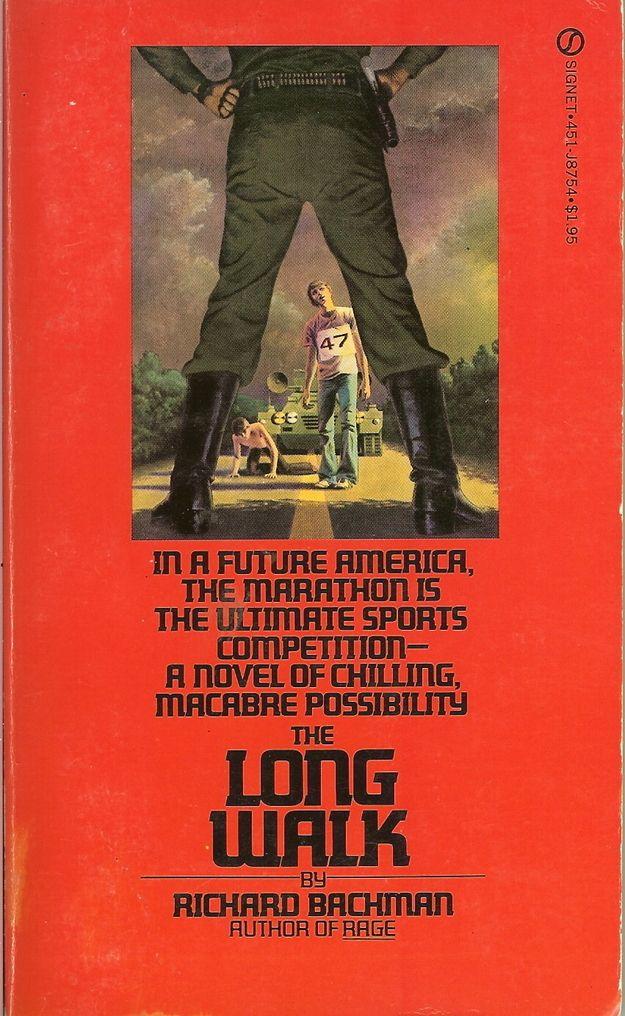 The Long Walk Stephen king books, King book, Stephen