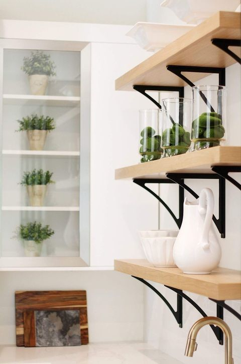 make your kitchen look elegant with custom floating shelves make these shelves practical or on kitchen floating shelves id=86921