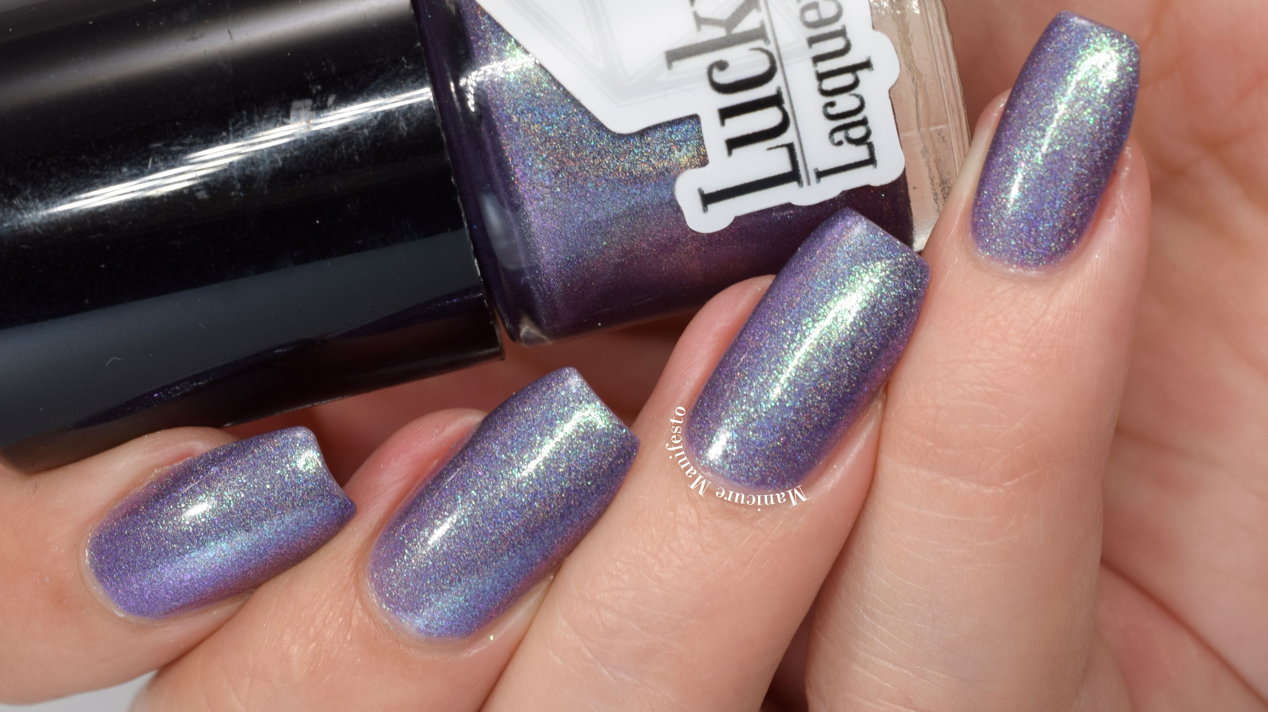 Lucky 13 Lacquer No Such Thing As True Love swatch Nail