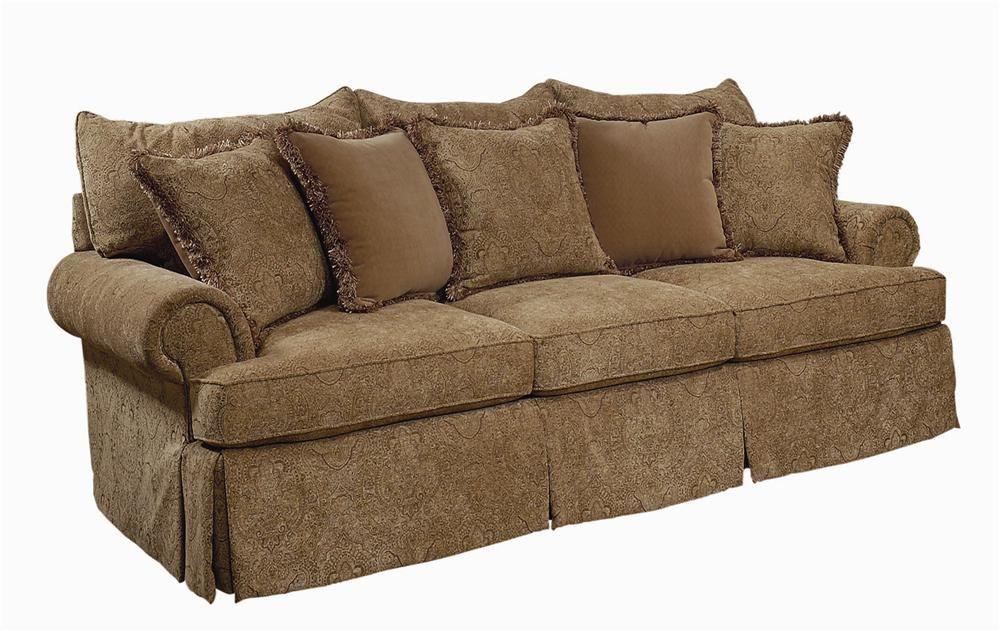 Danielle Medium Sized Stationary Sofa Couch By Bernhardt Hamilton Park Interiors Salt