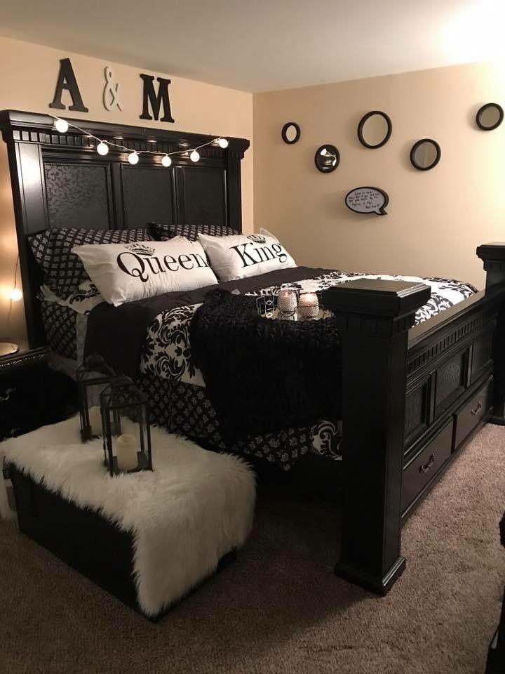 His & Hers Bedroom | Master bedroom furniture, Bedroom decor