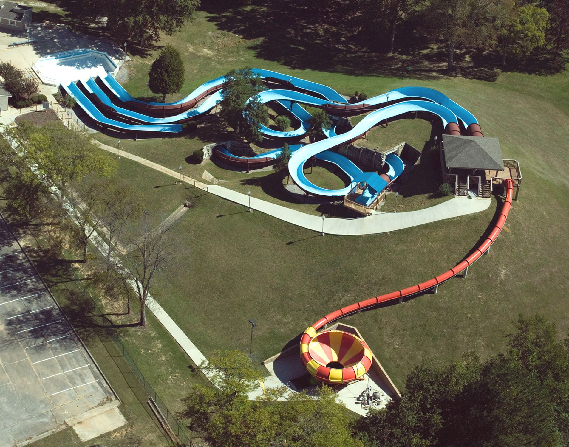 Bowl Slide and 3 Flume Slides at Point Mallard - Decatur, Alabama ...
