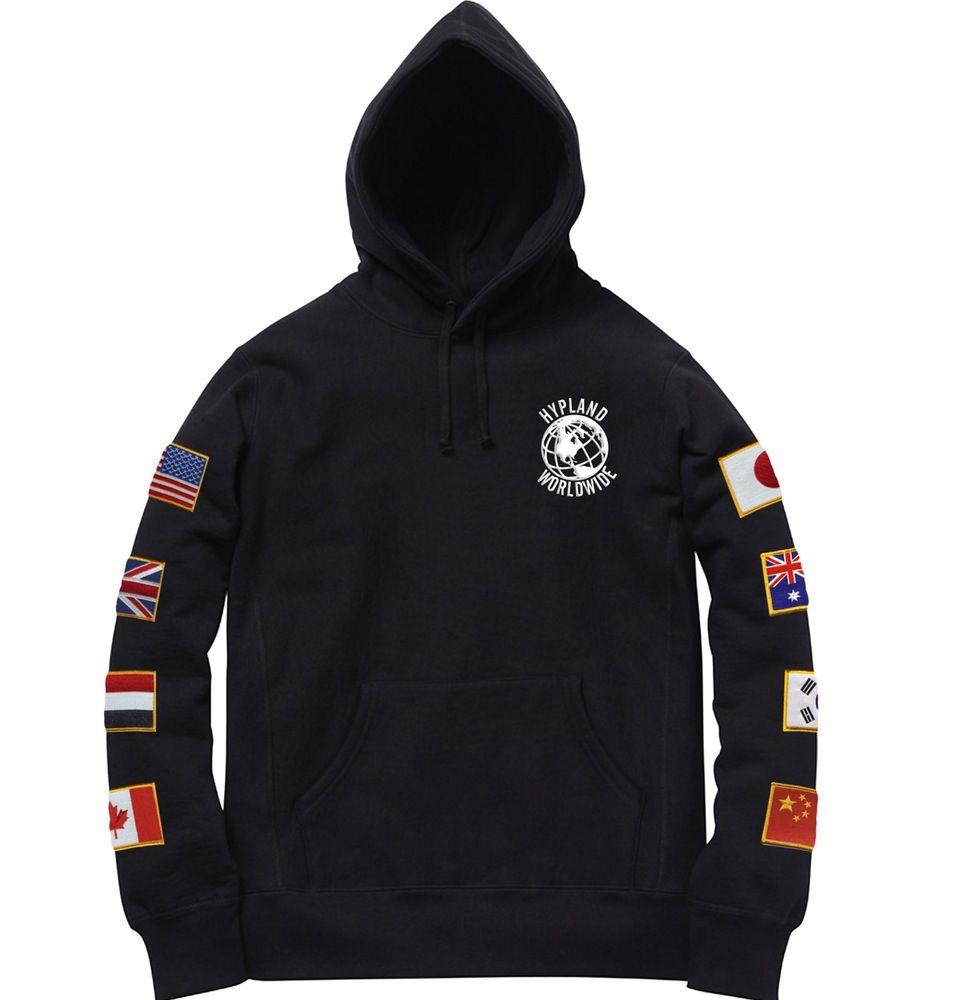 Black flag hoodie