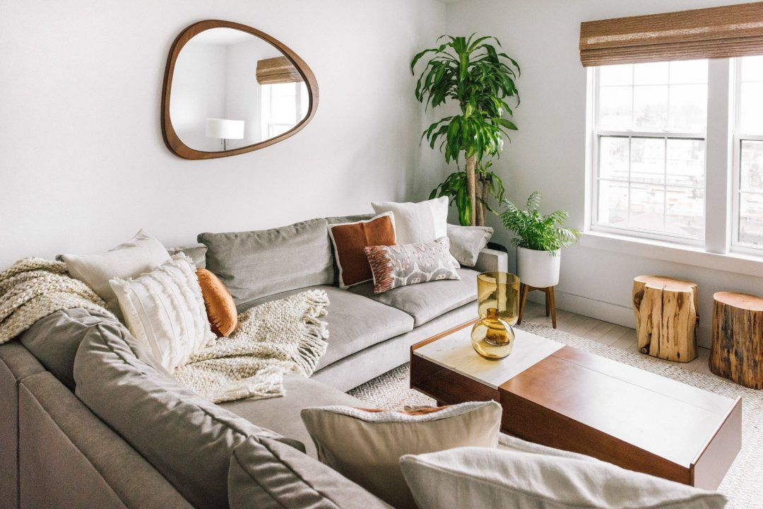 Harmony 3 Piece L Shaped Sectional Fresh Living Room Home Decor