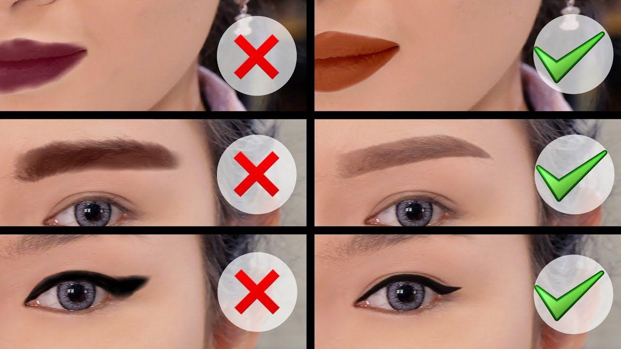 Belajar Makeup Sempurna Tips Tricks Koreksi Bentuk Alis Eyeliner Lipsticks Makeup Tutorial Eyeliner Eyeliner For Beginners Quick Makeup Tutorial