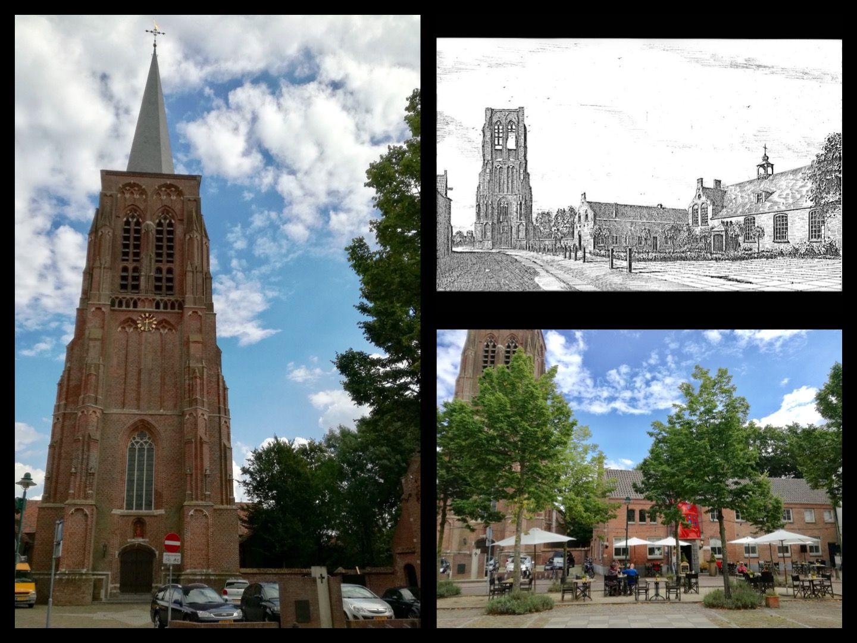 Sint Willibrordus kerk aan Heuvelstraat in Gemeente Alphen-Chaam, Noord-Brabant.