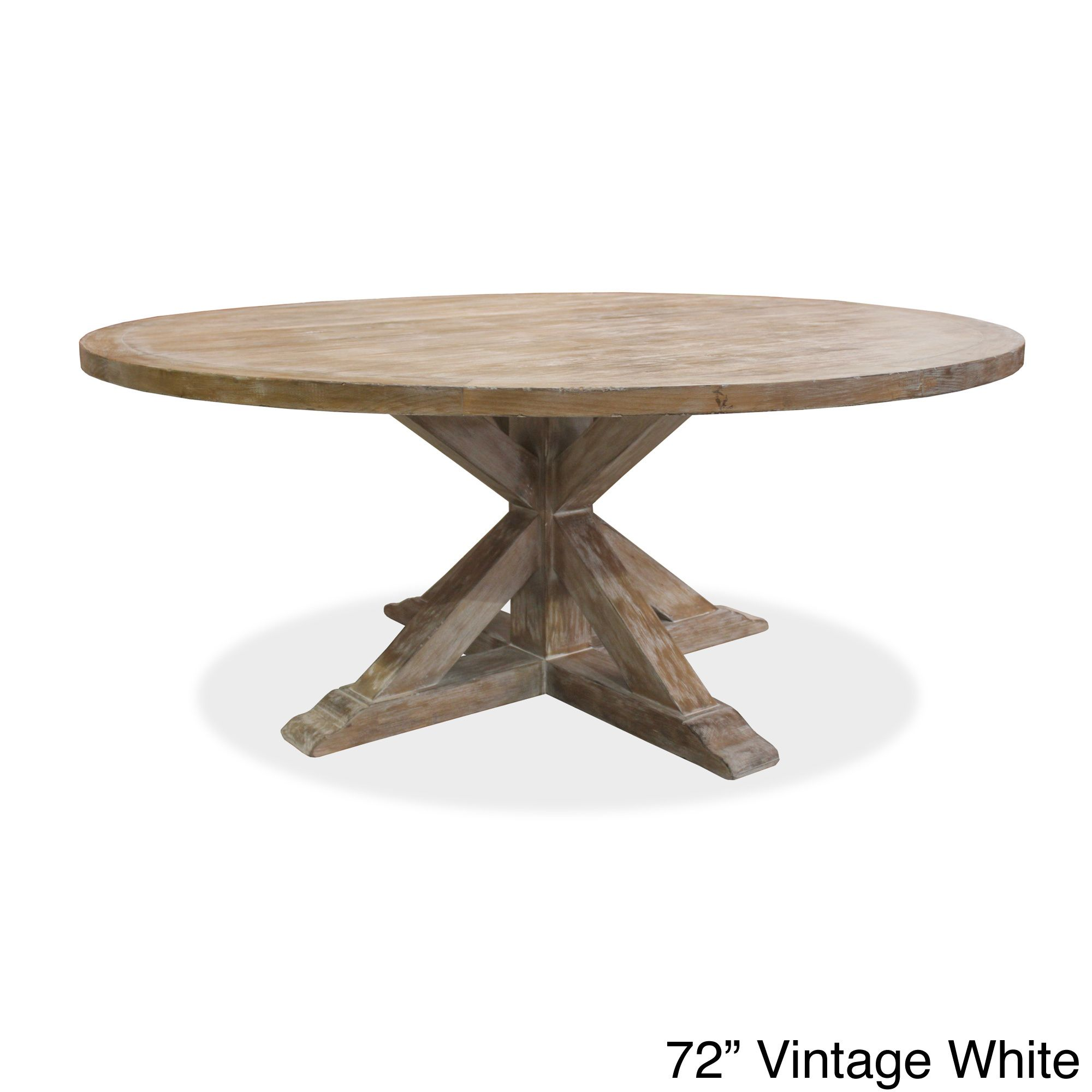 the la phillippe dining table is made with 80 year old recycled