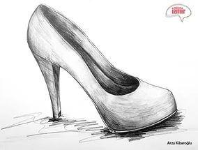 Oykunun Topuklu Ayakkabi Cizimleri Indir Cizim