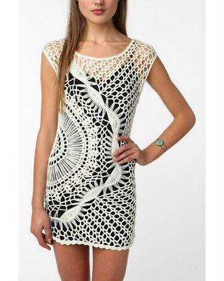 Free Chochet Pattern for Joie Elida Overlay Dress   Crochet patterns   Bloglovin'