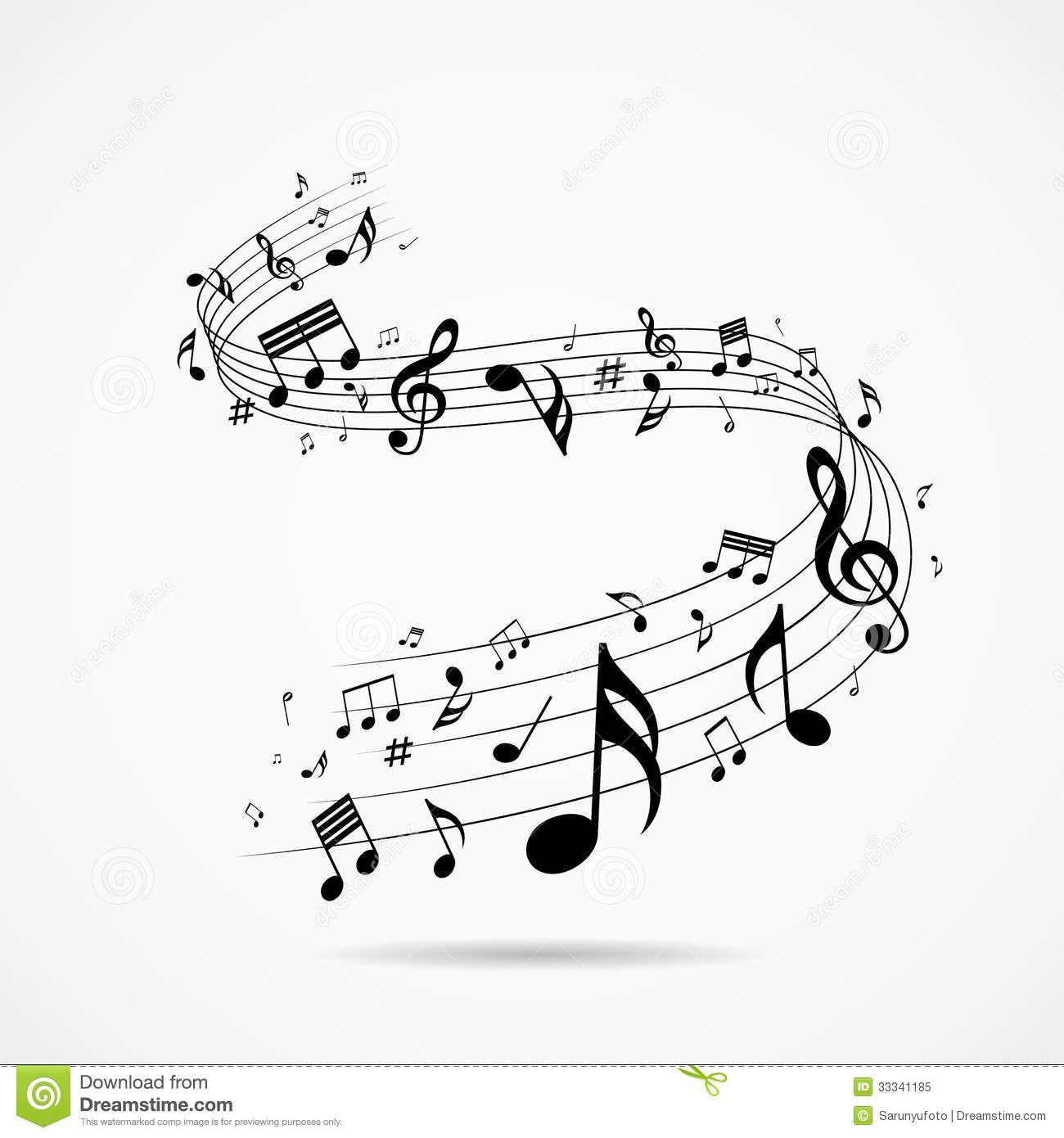 Fondo del dise o de las notas musicales descarga de over - Diseno de fotos ...