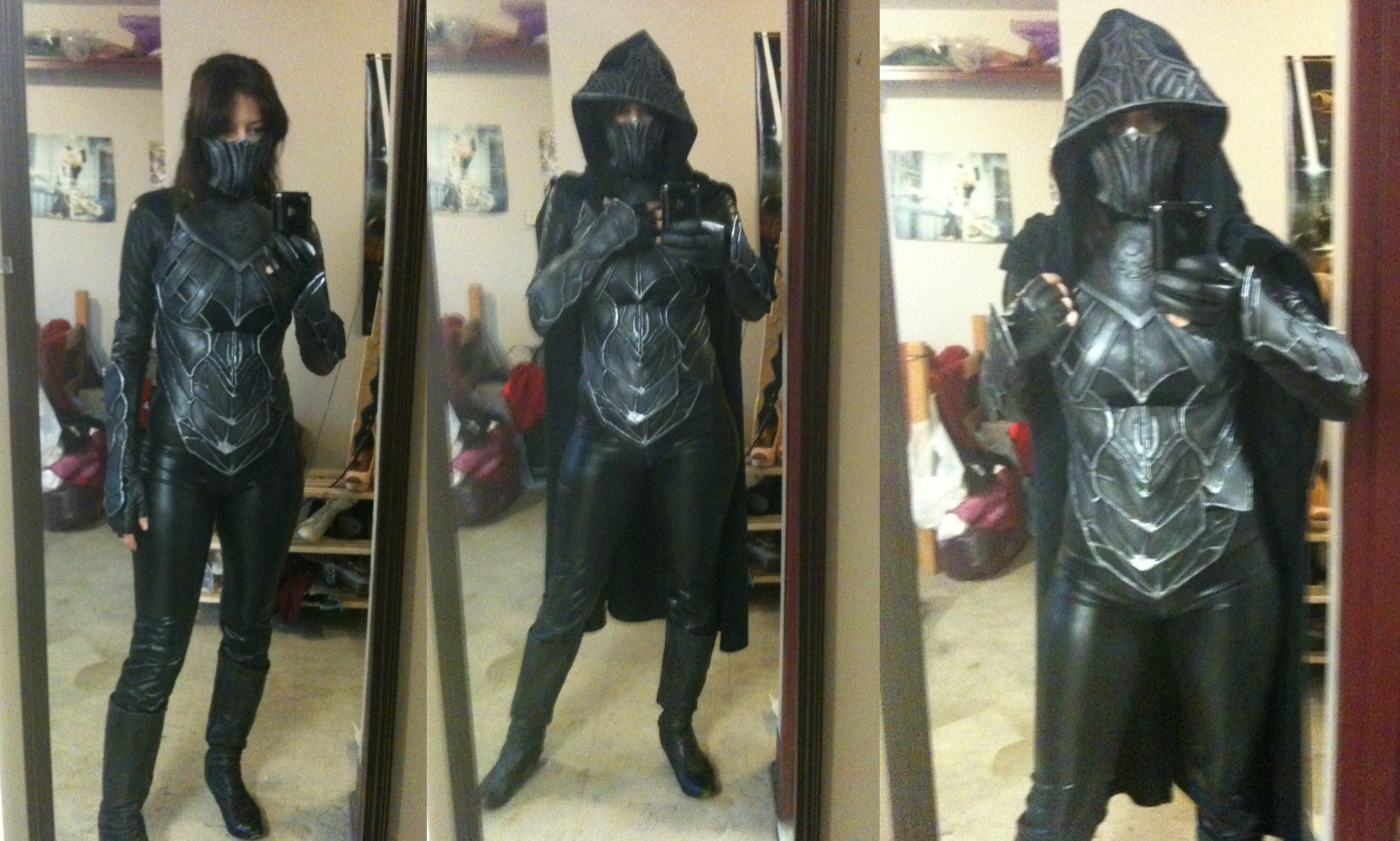 Black leather gloves skyrim - Karliah Nightingale Armor Skyrim Wip By Aicosu On Deviantart
