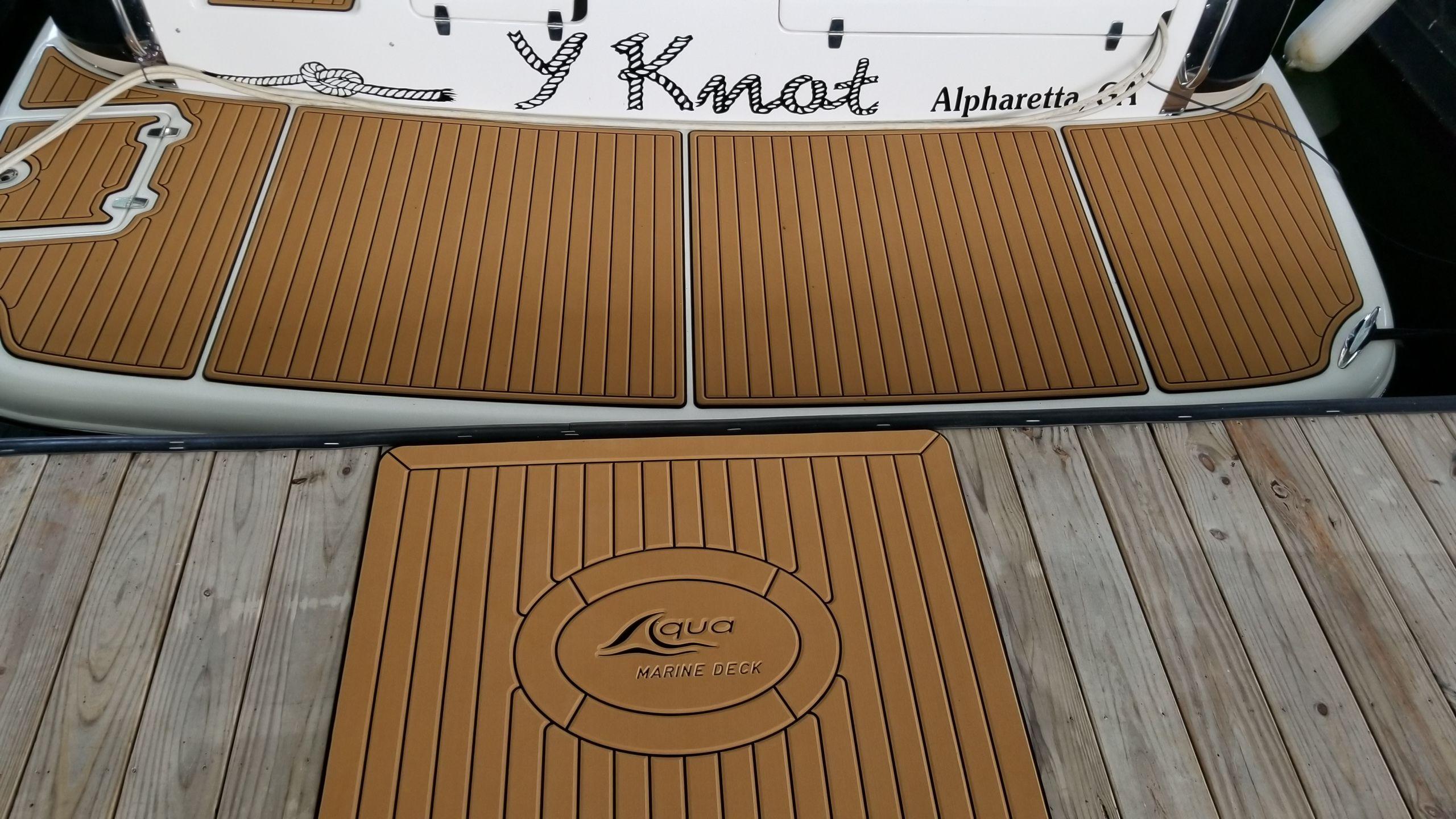 Aqua Marine Deck Boat Mat Soft Teak Boat Decking Custom Decks