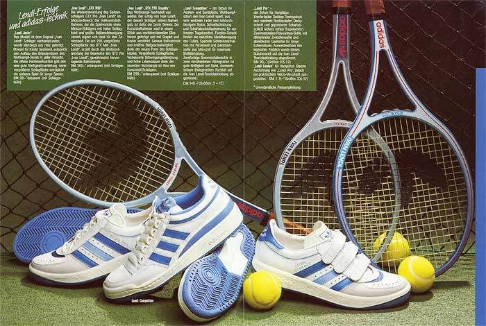 Adidas Ivan Lendl 80's vintage tennis | Tennis fashion