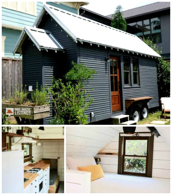 Rustic Minimal Tiny House On Wheels Tiny House For Sale