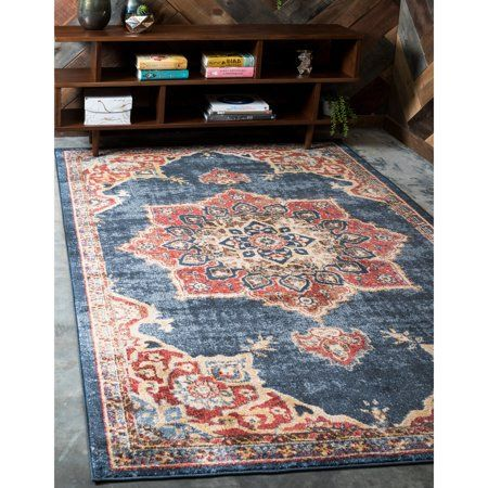 Home Area Rugs Blue Area Rugs Rugs