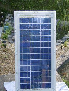 diy tuto comment fabriquer un panneau solaire nergies renouvelables pinterest solaire. Black Bedroom Furniture Sets. Home Design Ideas