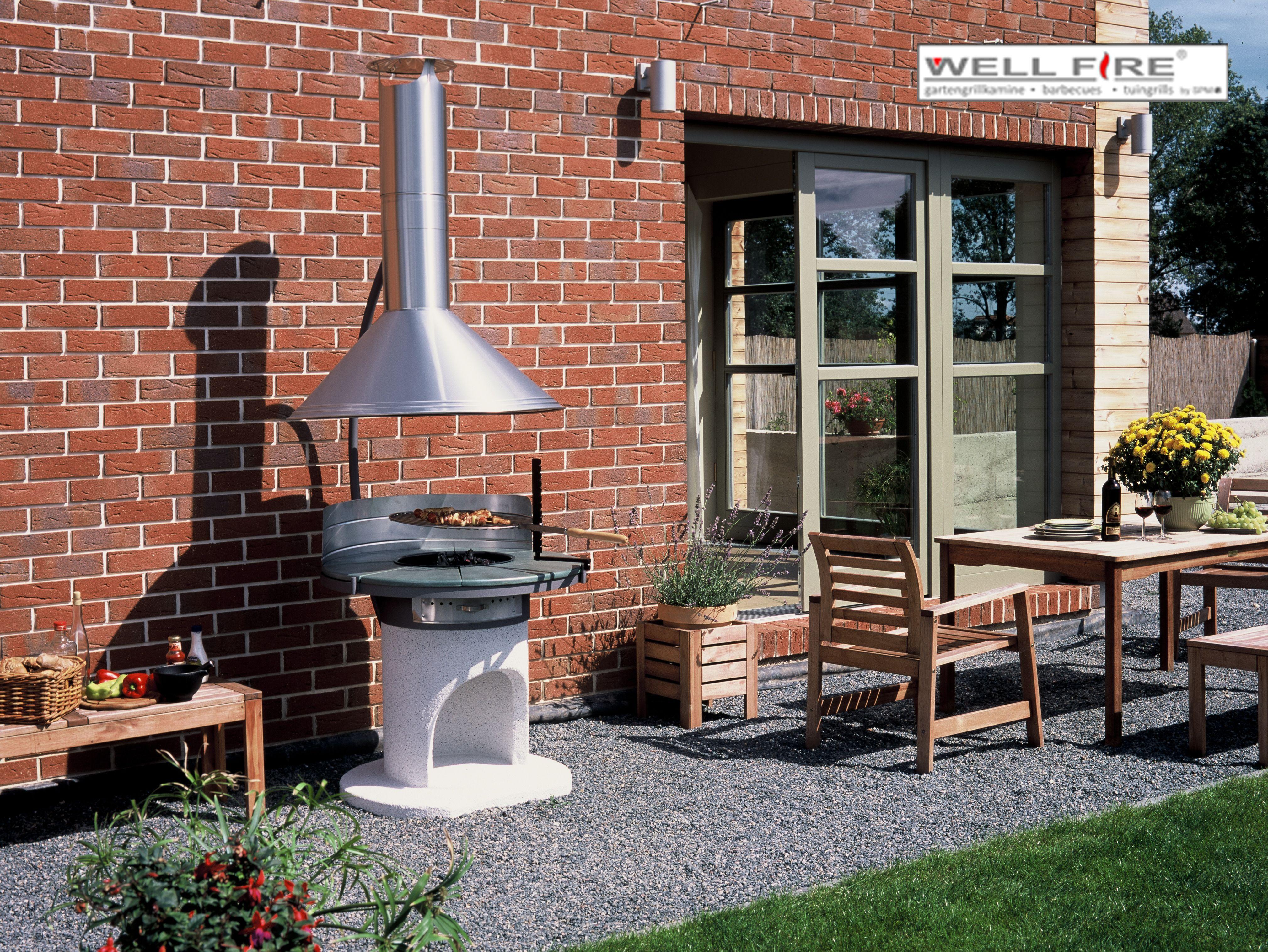 """design-grillkamin astra von wellfire mit """"frei schwebender"""