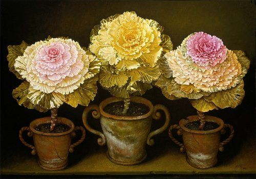 Jose Escofet - ColoredKaleor Borecolein Pots - 1930.